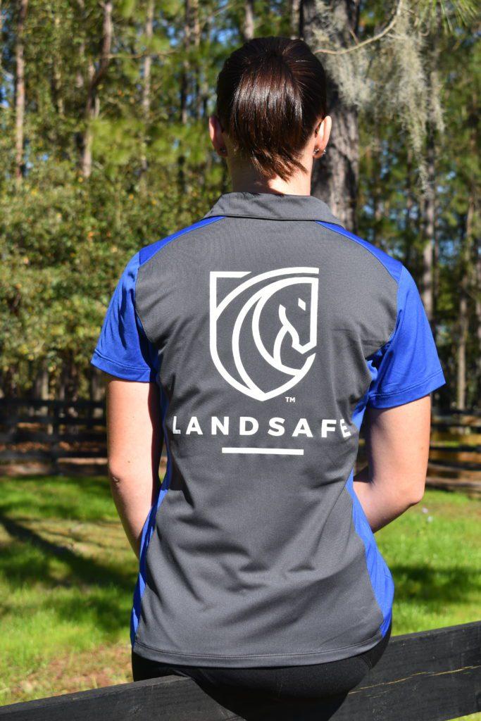 Landsafe Tee- back